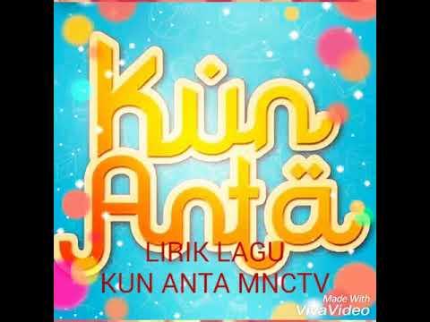 Lirik lagu Kun Anta MNCTV (Jadilah Diri Sendiri) Humood Alkhuder