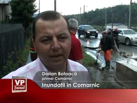 Inundaţii în Comarnic