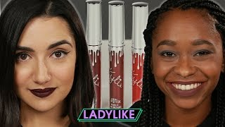 Women Try Kylie Jenner's Entire Holiday Collection • Ladylike