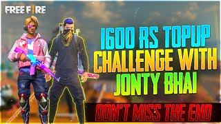 Dont Miss The End - 1600 RS TOPUP Challenge by Jonty Gaming