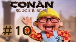Kalle der Baumeister! | Conan Exiles mit Maxim | 10