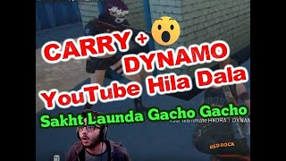 CarryMinati with Dynamo Gaming VS All, Best entertaining moments for fans