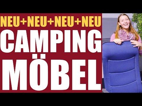 Campingmöbel, innovatives Material, neue Kollektion, wasserabweisend.