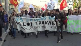 Manif étudiante du 17 Mars 2016