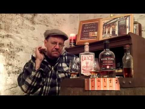 whisky review 592 – F.E.W. Bourbon & Rock Town 4-grain Sour Mash