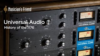 History of the Universal Audio 1176 Compressor/Limiter with CEO Bill Putnam