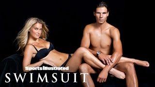 Tennis Pro Rafael Nadal Scores Big With Bar Refaeli In Photoshoot | Sports Illustrated Swimsuit