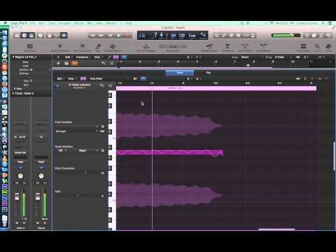Logic Pro X – Video Tutorial 24 – More Flex Pitch, Convert Audio to MIDI