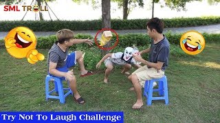 TRY NOT TO LAUGH - Funny Comedy Videos and Best Fails 2019 by SML Troll ( Full )