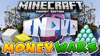 InPvP MONEY WARS SERVER! 1.0.7 Minecraft PE: Egg Wars, Build Battle & Blockhunt!