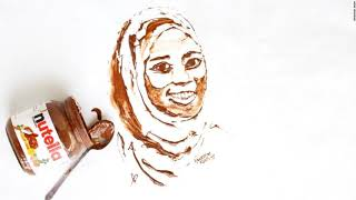Nigerian Painter Haneefah Adam Turns Meal In Art   Journey
