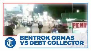 Viral Video Tawuran Debt Collector dan Ormas di Tangerang, Berawal dari Penagih Utang Tarik Mobil