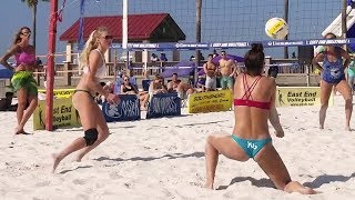 Beach Volleyball Girls | Semifinal One | Clearwater Beach, FL