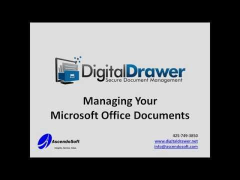 Manage Microsoft Office Documents