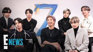BTS Reveals Their Dream Collabs & Tour Must-Haves | E! News
