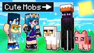 Playing as CUTE MOBS in Minecraft!