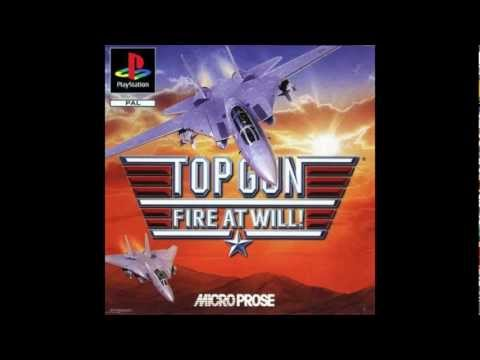 top gun - fire at will sony playstation rom