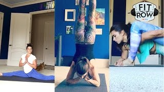 Danica and yoga: a match made in fitness heaven