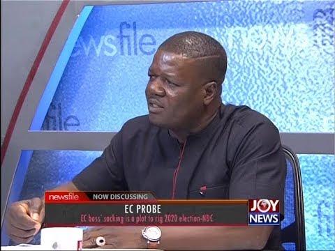 EC Boss' sacking is plot to rig 2020 election - Newsfile on JoyNews (30-6-18)