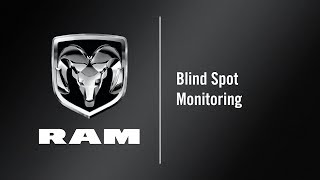 Blind Spot Monitoring | How To | 2020 Ram 1500 DT