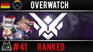 Overwatch Ranked #41 [ German / Deutsch - Gameplay ]