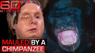 Woman's face and hands ripped off by pet chimpanzee | 60 Minutes Australia