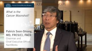 Patrick Soon-Shiong, MD, FRCS(C), FACS, discusses the Cancer Moonshot