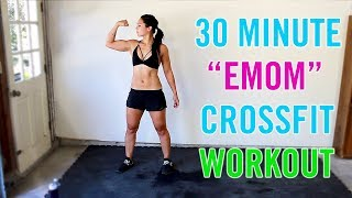 """EMOM"" Home Full Body Crossfit Workout"