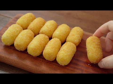 [SUB] How to make Creamy Potato Croquettes :: Classic Potato Croquettes