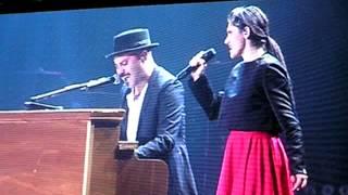 Elisa & Giuliano Sangiorgi   Basta Così Live @ Unipol Arena 22032014