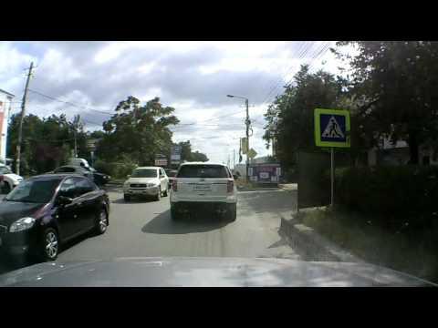 Honda и мопед столкнулись в Симферополе