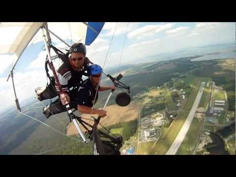 Gross: Puking While Hang-Gliding Looks Like A Lot Of Fun