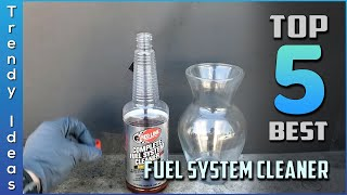 Top 5 Best Fuel System Cleaners Review in 2020