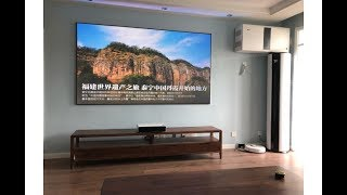100 inch PET Crystal ALR Projector Screen for Xiaomi Wemax One Pro