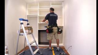 Artisan Custom Closets - Install Time Lapse