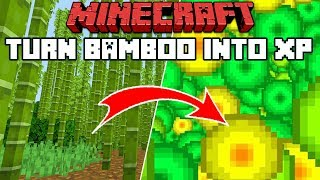 Minecraft 1.14: Making An XP Farm With Bamboo!