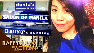 DAVID SALON, SALON DE MANILA AT BRUNO'S BARBER SHOP. ALIN KAYA DITO ANG PINILI NI ATE?!