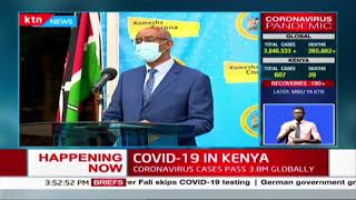 Kenyan government charters a plane to bring back Kenyans in India