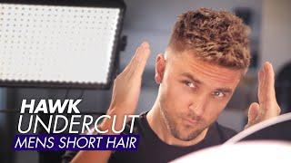 Hawk Undercut - Men Short Hair For Summer