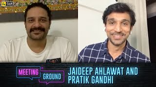 Pratik Gandhi & Jaideep Ahlawat   Scam 1992: The Harshad Mehta Story, Paatal Lok   Film Companion
