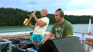 Infinity   Saxophone Live From Augustow City Boat Party