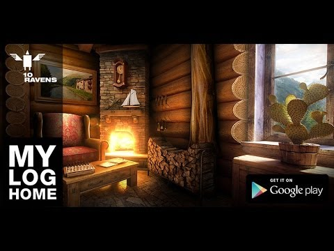 Video of My Log Home iLWP FREE
