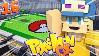 COSTRUIAMO UNO STADIO PER I COMBATTIMENTI! - Minecraft ITA - Pixelmon GX #16