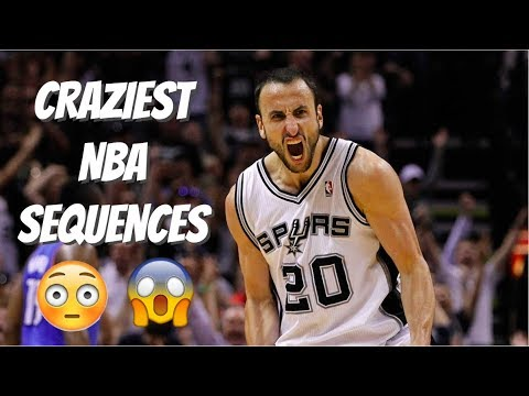 Craziest NBA Sequences of All Time (2017) [MUST WATCH]