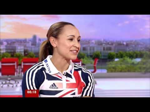 Jessica Ennis BBC Breakfast Interview 25-06-2012