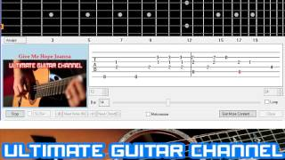 [Guitar Solo Tab] Give Me Hope Joanna (Eddy Grant)