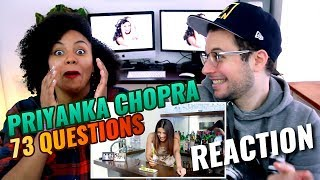 73 Questions With Priyanka Chopra | Vogue | REACTION
