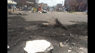 Kasarani protests intensify - VIDEO