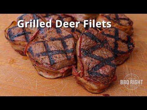 Grilled Deer Filet