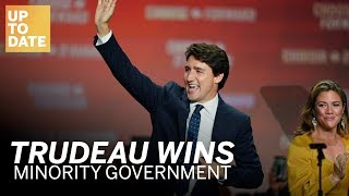 Trudeau wins minority government | Up to date with the Federal Election 2019